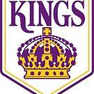 LA Kings Crown OLD SCHOOL by sayynicole
