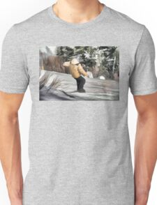 Hittin' It  - Snowboarding Jump Unisex T-Shirt