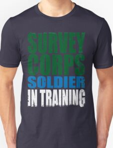 Survey Corps Soldier in Training T-Shirt
