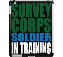Survey Corps Soldier in Training iPad Case/Skin