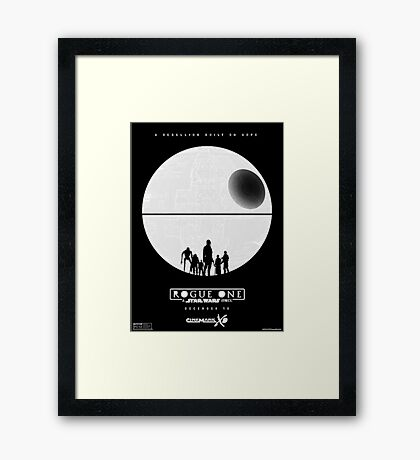 star wars - rouge one Framed Print