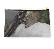 wood stork Studio Pouch