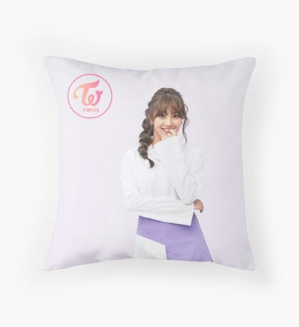 jihyo Throw Pillow