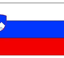 Slovenia Flag by kwg2200
