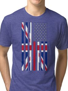 United States United Kingdom Tri-blend T-Shirt