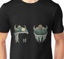 Glitch Hats Side-by-Side Lem mask Unisex T-Shirt