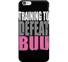 Training to DEFEAT BUU iPhone Case/Skin