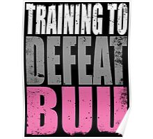 Training to DEFEAT BUU Poster