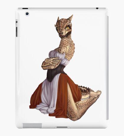 Lusty Argonian Maid Pinup 9 iPad Case/Skin