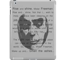 Gman | Rise and shine... iPad Case/Skin