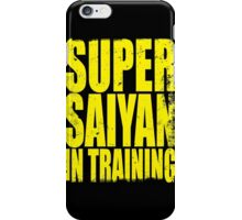 Super Saiyan in Training iPhone Case/Skin