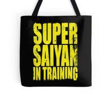 Super Saiyan in Training Tote Bag