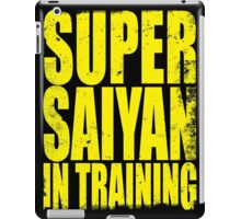Super Saiyan in Training iPad Case/Skin