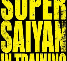 Super Saiyan in Training by Penelope Barbalios