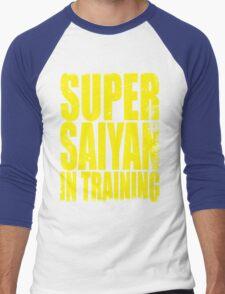 Super Saiyan in Training Men's Baseball ¾ T-Shirt