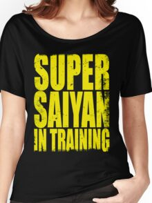 Super Saiyan in Training Women's Relaxed Fit T-Shirt