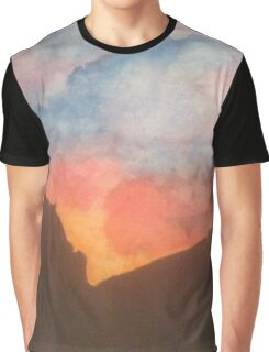 Rainbow colored sky Graphic T-Shirt