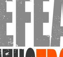 Training to DEFEAT DEATHSTROKE Sticker
