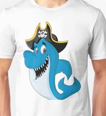 Shark Pirates Unisex T-Shirt