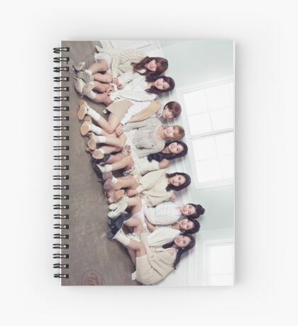 TWICE OT9 Spiral Notebook