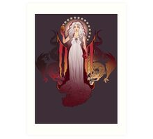 Our Mother of Dragons Art Print