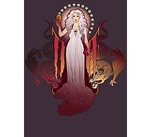Dragon Mother Photographic Print
