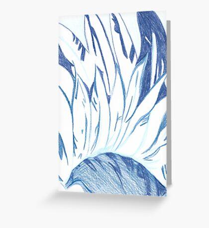 Abstract Harbinger Greeting Card