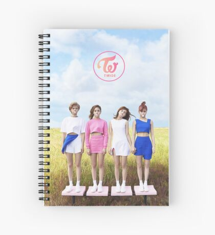 Twice TT 02 Spiral Notebook
