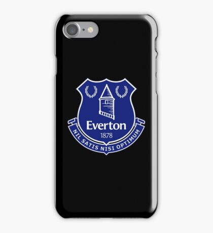 everton best logo iPhone Case/Skin