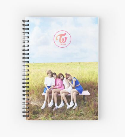 TWICE TT 03 Spiral Notebook