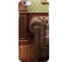 leather sofa in office iPhone Case/Skin