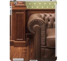 leather sofa in office iPad Case/Skin