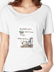 When I Bloom Women's Relaxed Fit T-Shirt