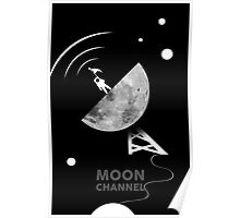 Moon channel Poster