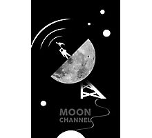 Moon channel Photographic Print
