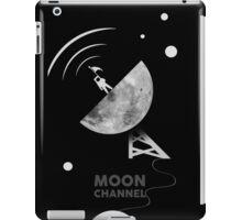 Moon channel iPad Case/Skin