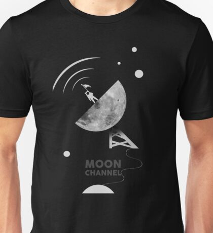 Moon channel Unisex T-Shirt