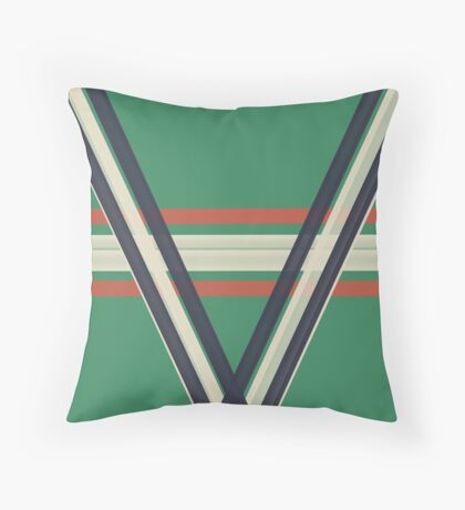 Sea Green With EnVy Throw Pillow