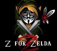 Z for Zelda by cArxangel