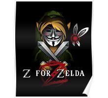 Z for Zelda Poster