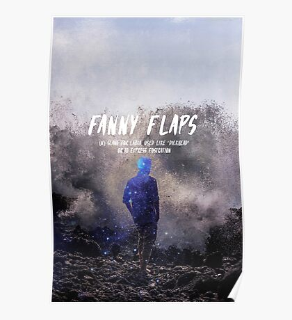Fanny Flaps Poster