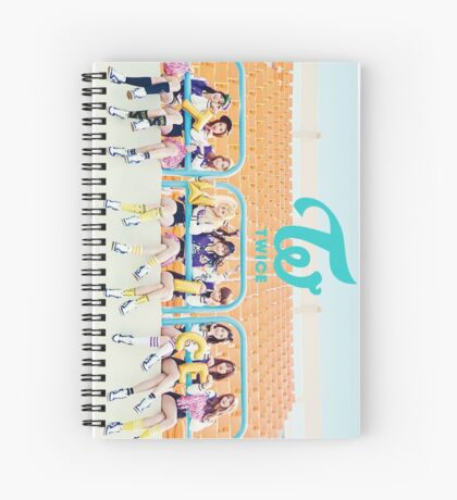 cheers up - Twice Spiral Notebook