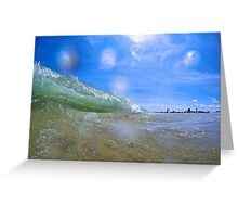 Shore Break Greeting Card