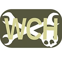 WCH Rectangle Logo Photographic Print