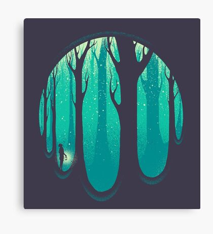 Lonely Dream Canvas Print