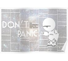 Hitchhiker's Guide to The Galaxy Poster