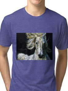 C.E. Wild Stallion Fractal Tri-blend T-Shirt