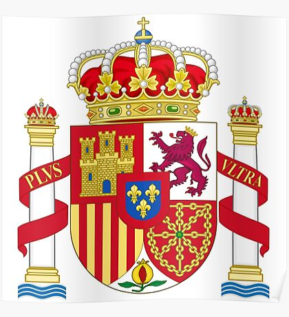 Spainish Coat of Arms Poster