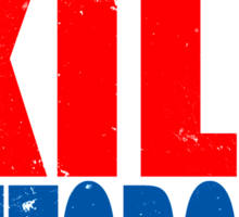 Training to KILL AUTOBOTS Sticker
