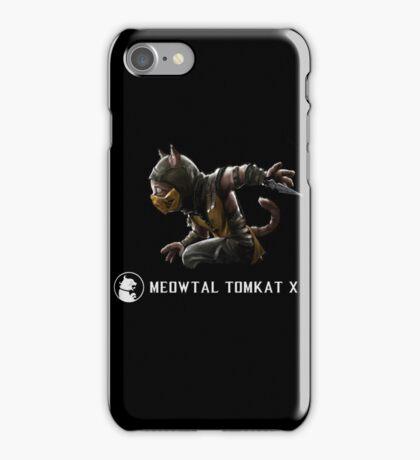 Meowtal Kombat Scorpion iPhone Case/Skin